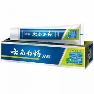 云南白药 薄荷清爽型牙膏210g