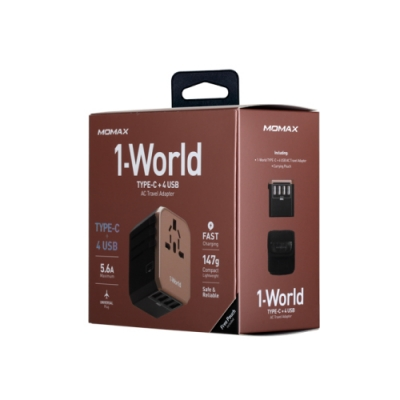 MOMAX 1-World 精英全球旅行充电插座【不包邮!】