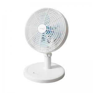 美的(Midea)办公室迷你多功能台夹电风扇白色 FTW18-12L
