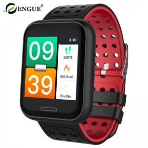 恩谷 户外蓝牙APP手表血压监测运动装备手环 T20(黑色)