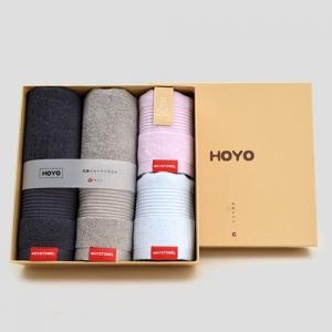 HOYO 抗菌毛巾家庭四件套 7256