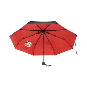 大嘴猴(Paul Frank)黑胶雨伞 红色 PFU005-5