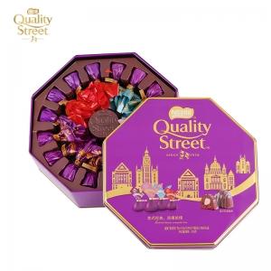 雀巢 凯利恬巧克力32粒八角双层铁盒混合装
