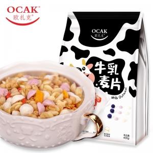 欧扎克/OCAK 牛乳麦片400g