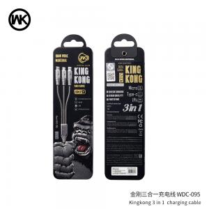 WK 金刚三合一数据线WDC-095【不包邮!】