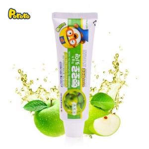 啵乐乐 牙膏90g*4支(菠萝味+青苹果味+哈密瓜味+草莓味)