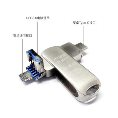 韩美定制 3in1(tapeC/安卓/USB)U盘 32G【不包邮】