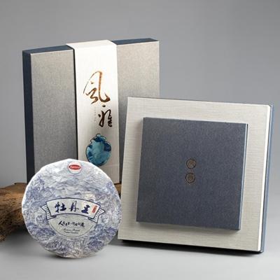 韩美定制 风雅白茶茶饼套盒【不包邮】