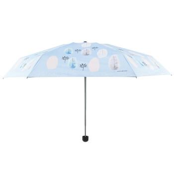 韩美定制 晴雨伞北欧森林(蓝色)【不包邮】