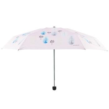 韩美定制 晴雨伞北欧森林(粉色)【不包邮】